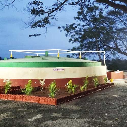 5 TPD Biogas Plant in Kolhapur